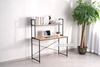 Picture of HENMAN 120 WORK DESK WITH SHELF *BLACK