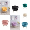 Picture of EVELYN CURVED FLARED ARMCHAIR