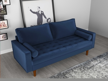 Picture of FAVERSHAM 3+2 SOFA RANGE - Space Blue