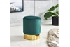 Picture of VERSA SMALL OTTOMAN *PINK/GREY/GREEN