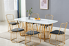 Picture of MARBELLO MARBLE TOP 7PC DINING SET