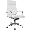 Picture of ALEXIA HIGH BACK OFFICE CHAIR * WHITE PU