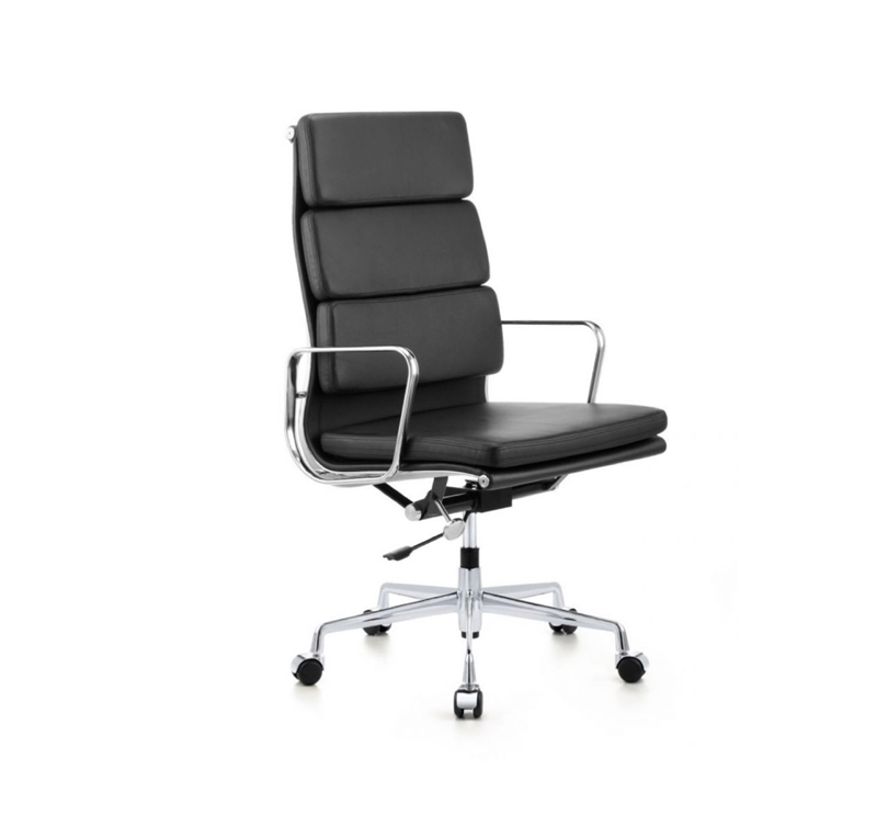 Picture of ALEXIA HIGH BACK OFFICE CHAIR * BLACK PU