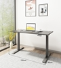 Picture of UP1 120 TWIN MOTOR ELECTRIC HEIGHT ADJUSTABLE STANDING DESK* BLACK