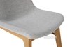 Picture of LARSSON DINING CHAIR *SOLID ASH IN RED/GREY