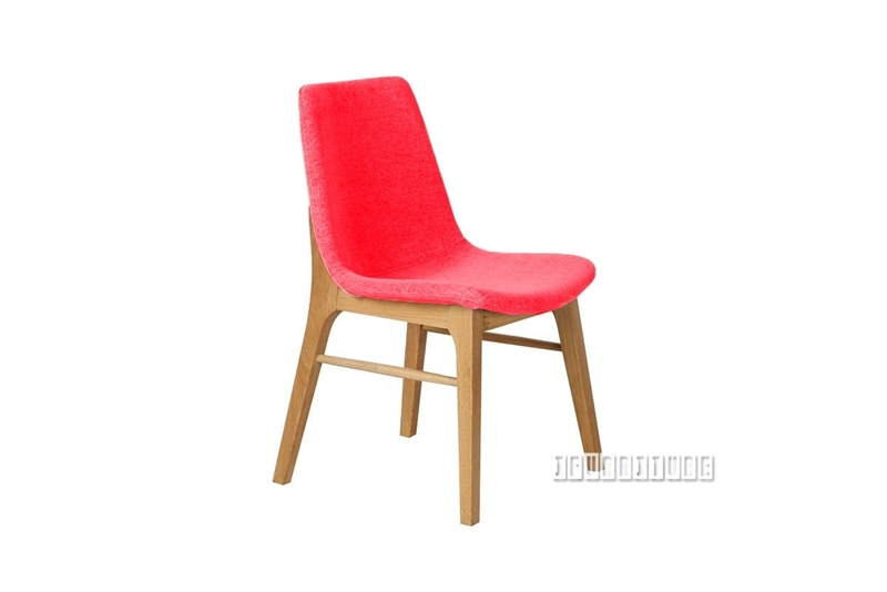 Picture of LARSSON DINING CHAIR *SOLID ASH IN RED