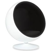 Picture of BALL Chair Black *Cashmere & Fiber Glass