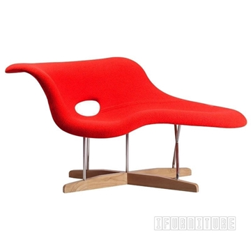 Picture of EAMES LA CHAISE LOUNGER* Cashmere