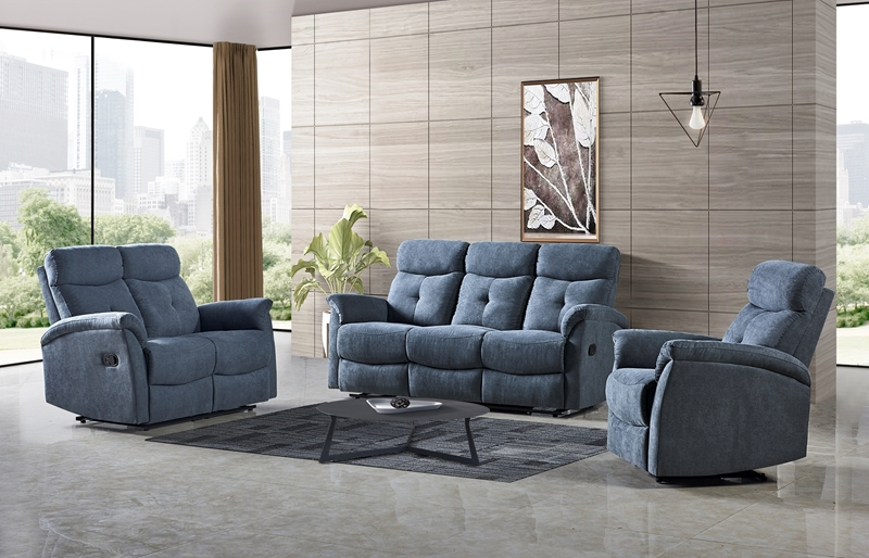 Picture of ETHAN RECLINING SOFA RANGE IN 3RR+2RR+1R