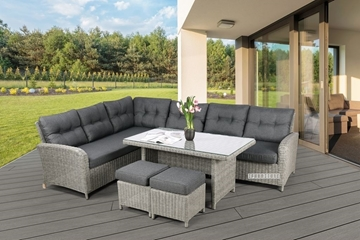 Picture of TOUAREG WICKER OUTDOOR SOFA SET *ALUMINIUM FRAME