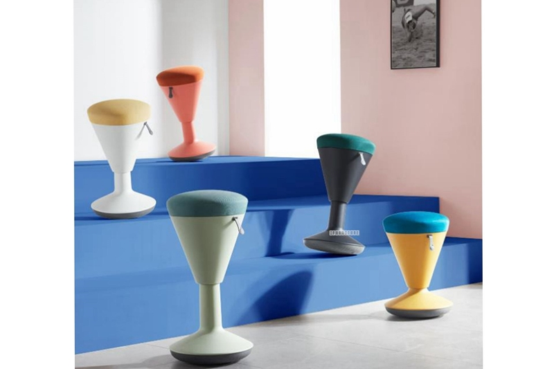 Picture of LEVINGSTON HEIGHT ADJUSTABLE ACTIVE STOOL *2COLOURS