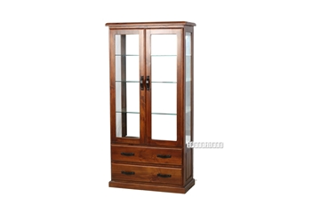 Picture of DROVER 180 DISPLAY CABINET *SOLID PINE