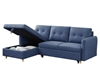 Picture of Kayden Sectional sofabed with storage *blue