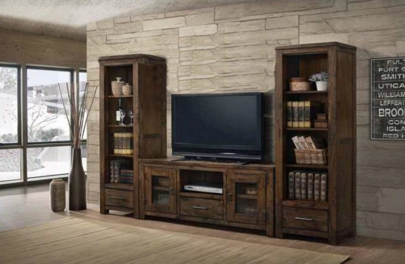 Picture of VENTURA  Solid wood MEDIA CENTER SET
