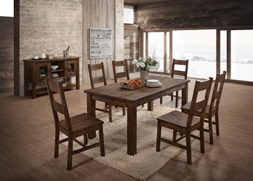 Picture of Ventura 7PC Solid Wood Dining Set