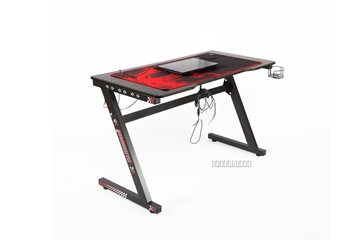 Picture of ANAKIN GAMING DESK with led  *BLACK