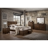 Picture of Ventura Solid wood platform bed frame with storage drawers