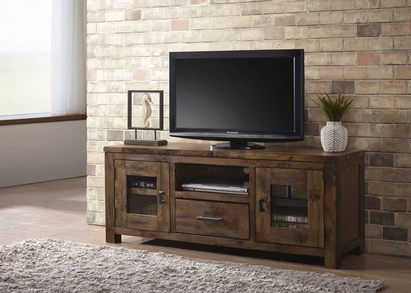"""Picture of Ventura 60"""" Solid Wood TV Stand"""