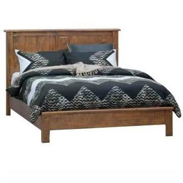 Picture of RIVERWOOD RUSTIC PINE BED IN QUEEN/ KING