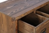 Picture of LIBRARY 8 Drawers Wood Cabinet *Brown Rustic