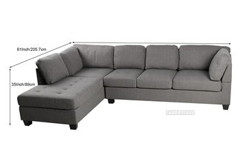 Picture of EINSTEIN SECTIONAL SOFA