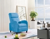Picture of HOWE Manual Pushback Recliner Chair in three colors