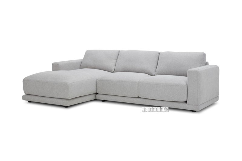 Picture of HUGO FEATHER FILLED SECTIONAL FABRIC SOFA *DUST, WATER & OIL RESISTANT