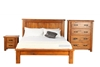 Picture of RIVERWOOD 5PC RUSTIC PINE BEDROOM COMBO IN QUEEN/ KING SIZE