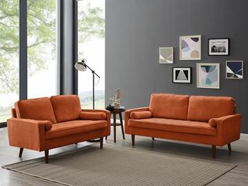 Picture of FAVERSHAM 3+2 SOFA RANGE *orange