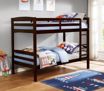 Picture of Artice Twin over twin bunkbed *espresso