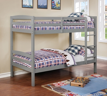 Picture of Artice Twin over twin bunkbed *Grey