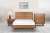 Picture of RETRO OAK BED IN QUEEN/KING SIZE *MAPLE