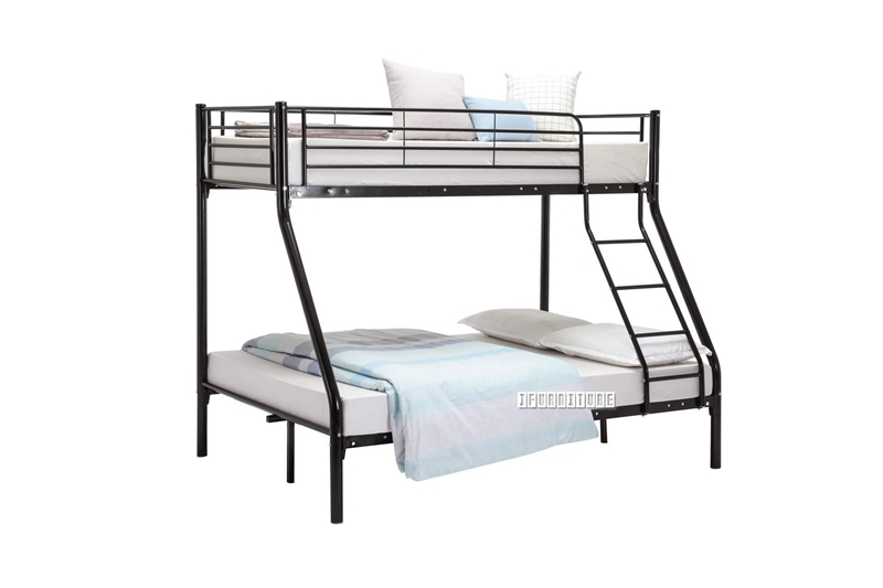 Picture of STELLA STEEL FRAME SINGLE-DOUBLE BUNK BED *BLACK