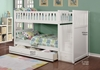 Picture of Jenafir  Twin over twin bunk bed *white