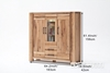 Picture of CARDIFF Large Display /high board *Solid European Oak & Made in Europe