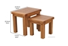Picture of WESTMINSTER NESTING TABLES *SOLID OAK