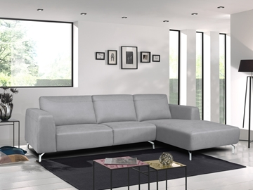 Picture of Lincoln FABRIC SECTIONAL SOFA * LIGHT GREY