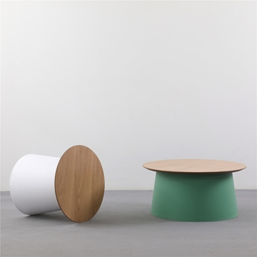 Picture of NANCY COFFEE TABLE WITH OAK TOP * 5 COLOR AVAILABLE