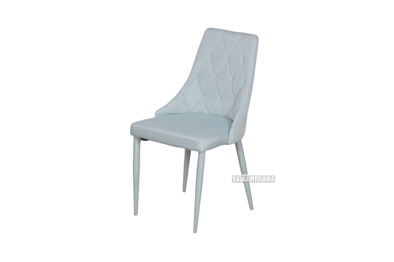 Picture of HUTCH FABRIC DINING CHAIR *BLUE